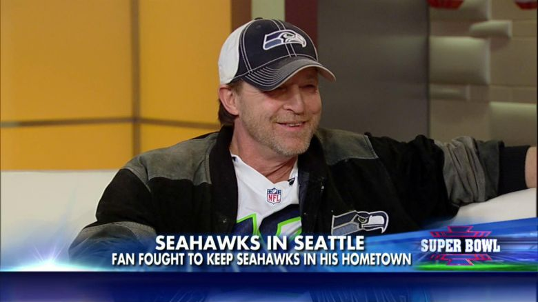 Save Our Seahawks Founder Mark Collins | C & C Construction | General Contractor in Seattle & Mercer Island