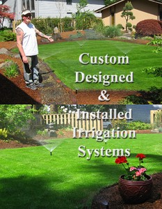 Custom Designed & Installed Irrigation Systems   C & C Construction   Seattle & Mercer Island General Contractor